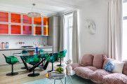 Журнал Architectural Digest: кухня-«радуга» от Дианы Балашовой