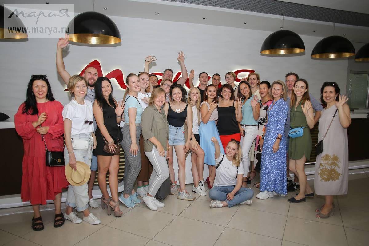 Фабрику «Мария» посетили дизайнеры и представители главных интерьерных изданий России