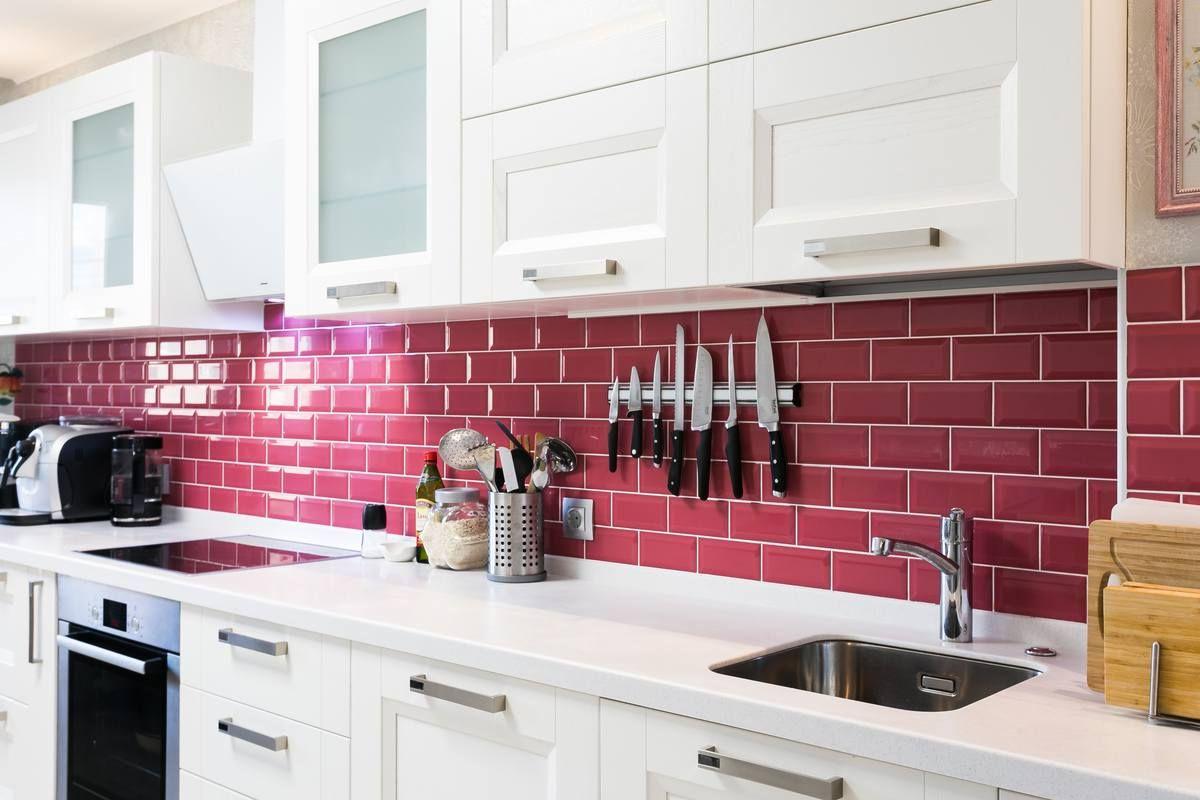Кухонный фартук: 35 примеров удачных решений
