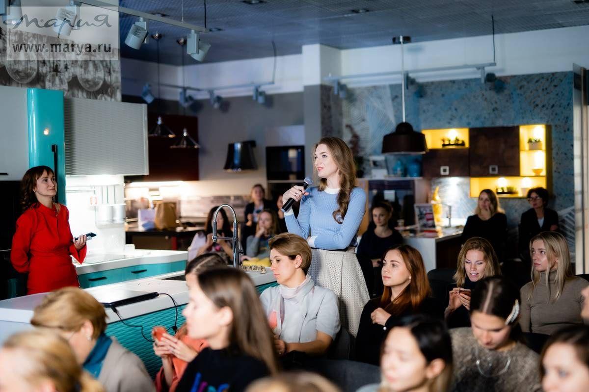 В студии «Мария» прошла встреча дизайнеров