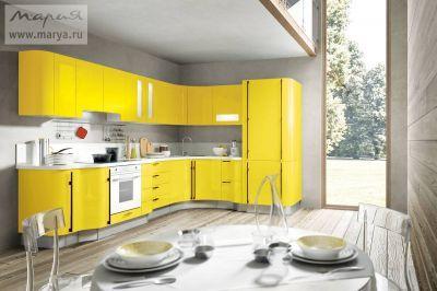 Кухни лимонного цвета в г. Санкт-Петербург