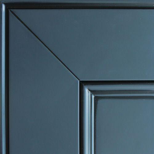 Серо-синий, черная патина