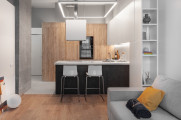 Квартира в стиле Mix 22: стильно, практично, недорого