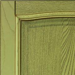 Зеленый с коричневой патиной