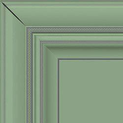 Зеленый с серебряной патиной