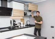Фасады без ручек: как супертренд воплощается в кухнях «Марии»