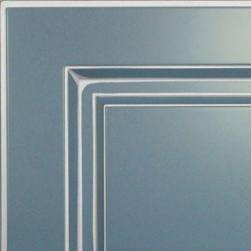 Грифельно-синий с серебряной патиной