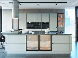 У кухонь «Мария» появилось инновационное суперматовое покрытие Soft-touch