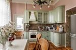 Кухни советы, Как спрятать газовую трубу на кухне?