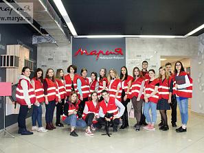 День студента в «Марии»: фабрику посетили будущие художники и 100-балльники из регионов России